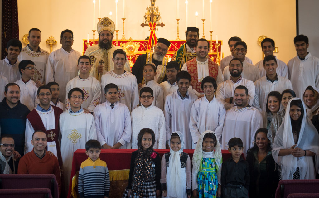 Visit from Coptic Orthodox Church